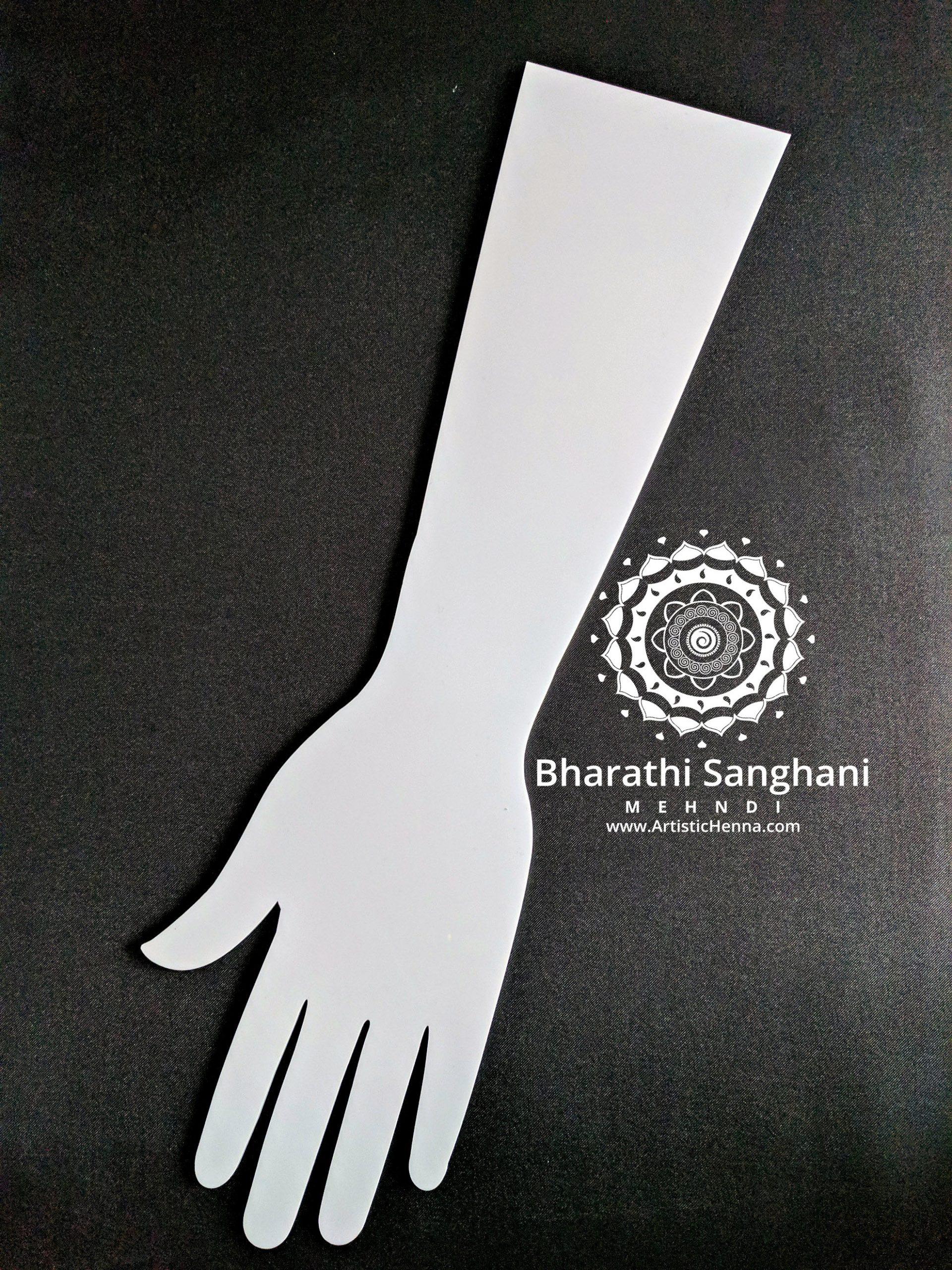 acrylic hand