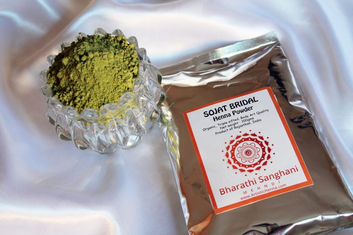 Five times Sifted Henna Powder