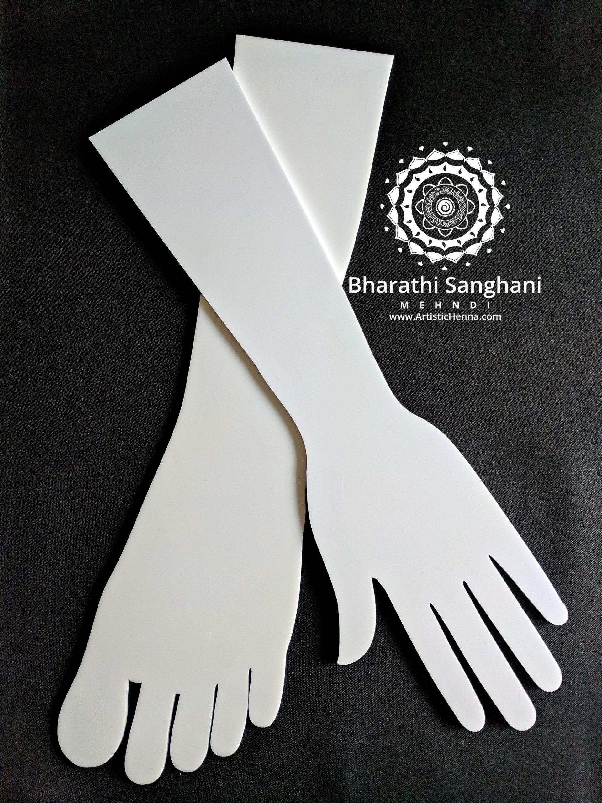 acrylic hand & foot