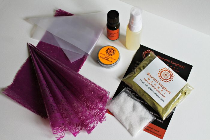 mini pregnancy henna kit