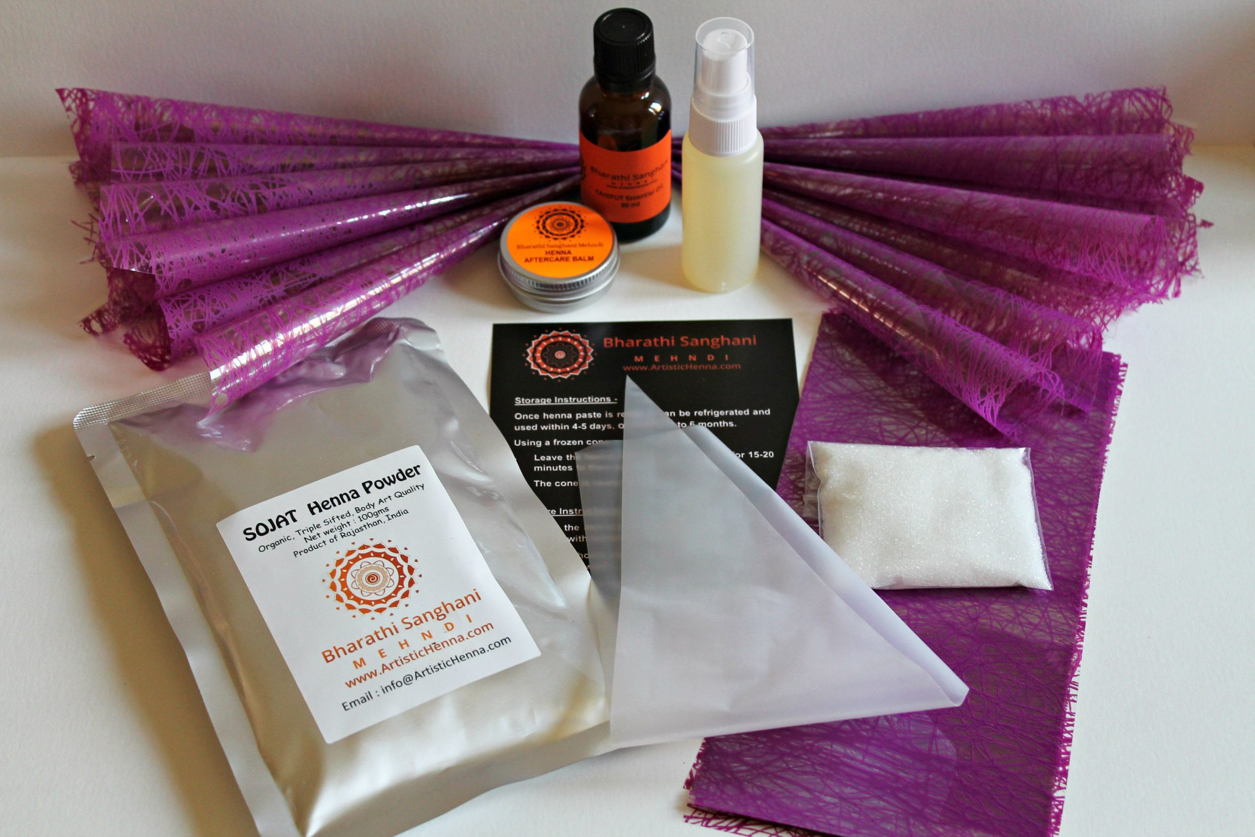 professional pregnancy henna kit